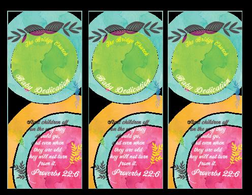 baby dedication bookmarks new three-01